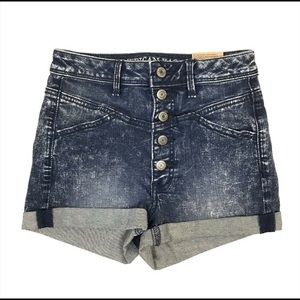 American Eagle Super Stretch High Waisted Button 2